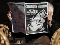 """Sonderausgabe von """"Charlie Hebdo"""" zum Jahrestag des Attentats"""