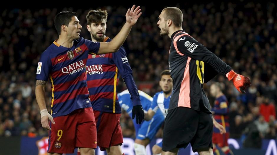 Football Soccer - Barcelona v Espanyol - Spain King's Cup