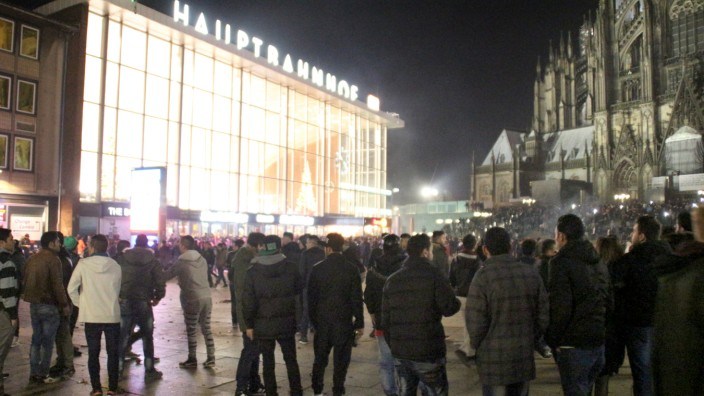 Situation Silvester am Kölner Hbf