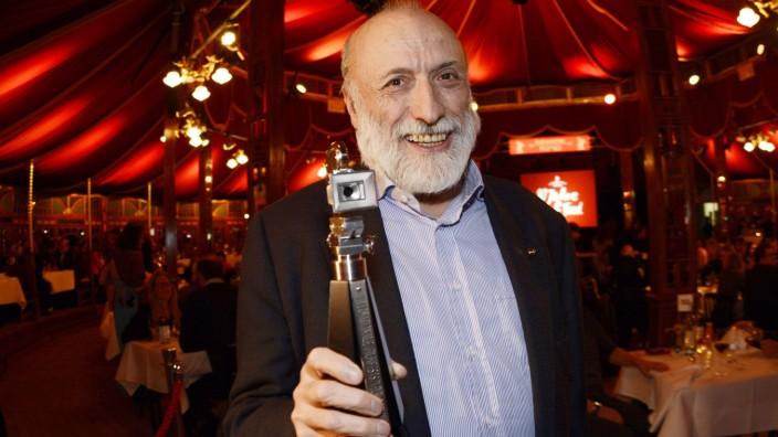 Carlo Petrini bei der Verleihung der Berlinale Kamera 2015 auf der Berlinale 2015 65 Internationa