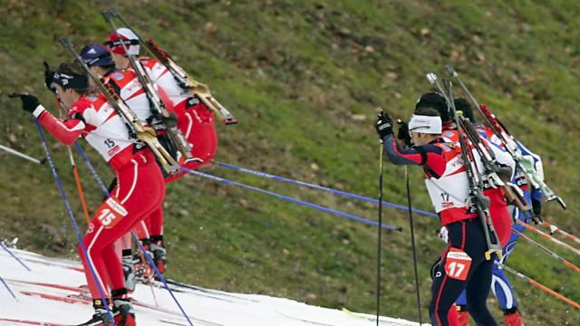 Biathlon - Ruhpolding Massenstart Herren