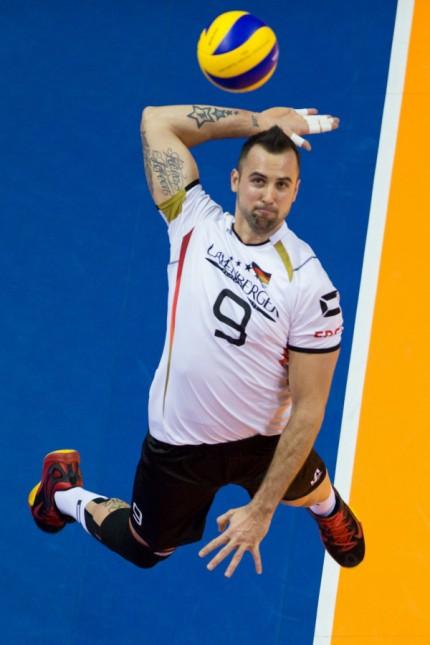 06 01 2016 Max Schmeling Halle Berlin Volleyball Olympiaqualifikation Deutschland GER vs Serb