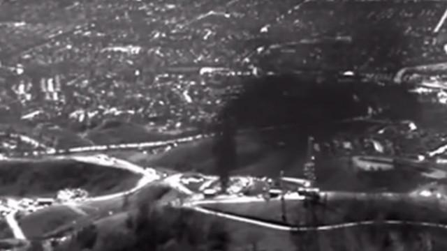 Gasleck in Vorort von Los Angeles