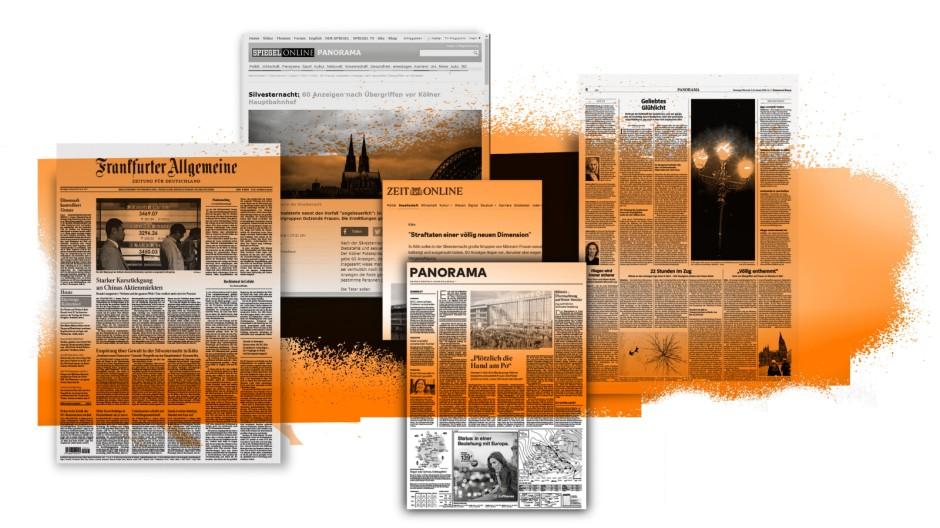 Medien und Übergriffe in Köln