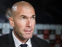 Real Madrid's new head coach Zinedine Zidane