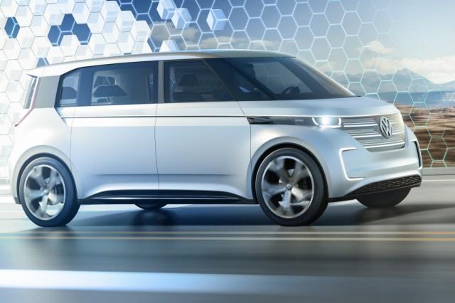 Neue Bulli-Studie VW Budd-e stimmt auf elektrischen VW von morgen ein
