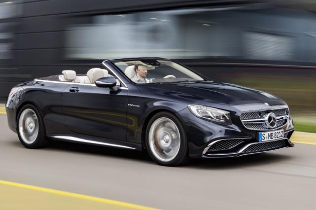 Mercedes SL65 AMG in der Seitenansicht
