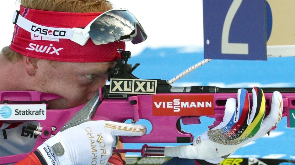 Wintersport Sprint der Männer