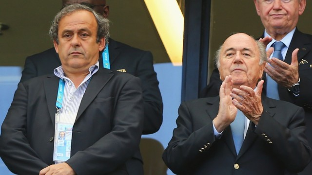FILE - Suspended FIFA Vice-President Michel Platini Not To Stand In FIFA Presidential Election