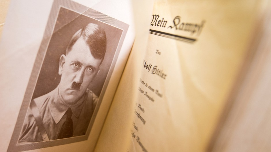 Originalausgabe von 'Mein Kampf'