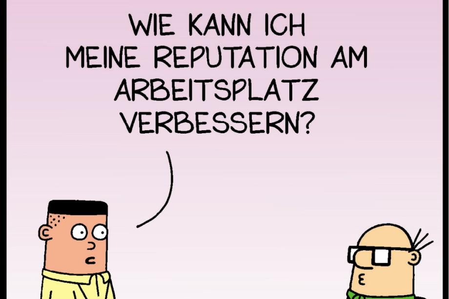 Comics Des Tages Dilbert Peanuts Co Kultur Suddeutsche De