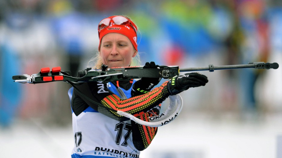 Biathlon Weltcup 4 08 01 2016 Ruhpolding IBU Weltcup 4 7 5 km SPRINT Damen HILDEBRAND Franziska GER