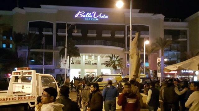 Gunmen opened fire on the Bella Vista Hotel