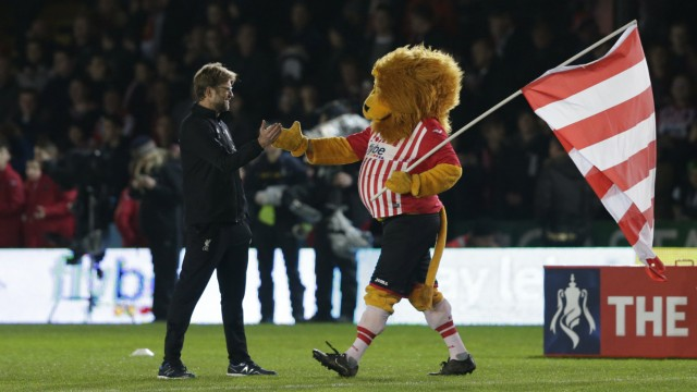 Exeter City v Liverpool - FA Cup Third Round