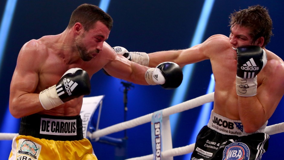 Vincent Feigenbutz v Giovanni De Carolis - WBA Super-Middleweight World Championship