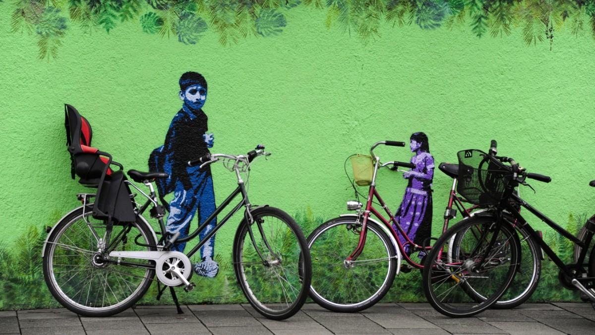 Wie München Radfahrer allein lässt