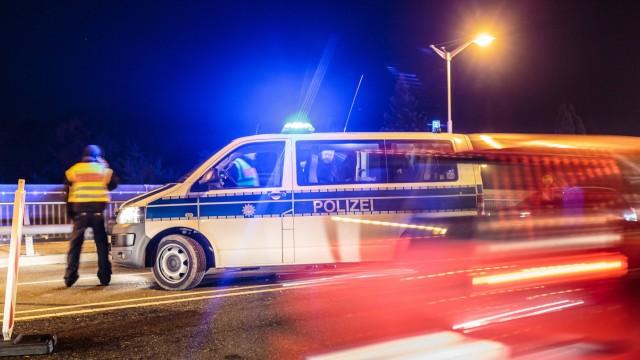 Freilassing 23 10 2015 Grenzuebergang Freilassing Salzburg GER Fluechtlingskrise in der EU im