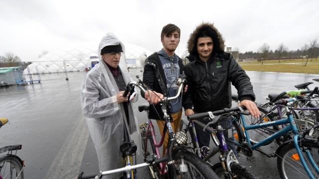 Fahrradkurse für Flüchtlinge