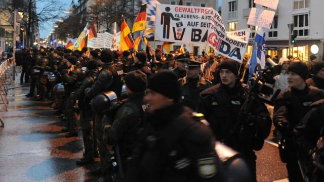 Bagida Demonstration in München, 2015