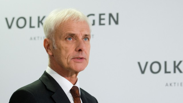 Volkswagen - Matthias Müller