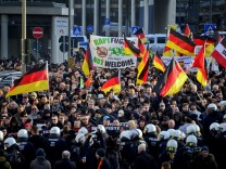 ***BESTPIX*** Right-Wing Groups Rally Following Cologne Sex Attacks