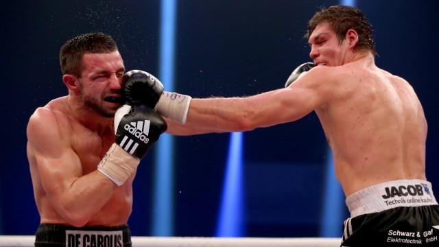 Vincent Feigenbutz v Giovanni De Carolis - WBA Super-Middleweight World Championship