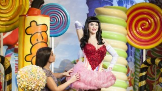 April 2 2014 c London UK The final touches are made to the Katy Perry exhibit by Tansy Ratclif