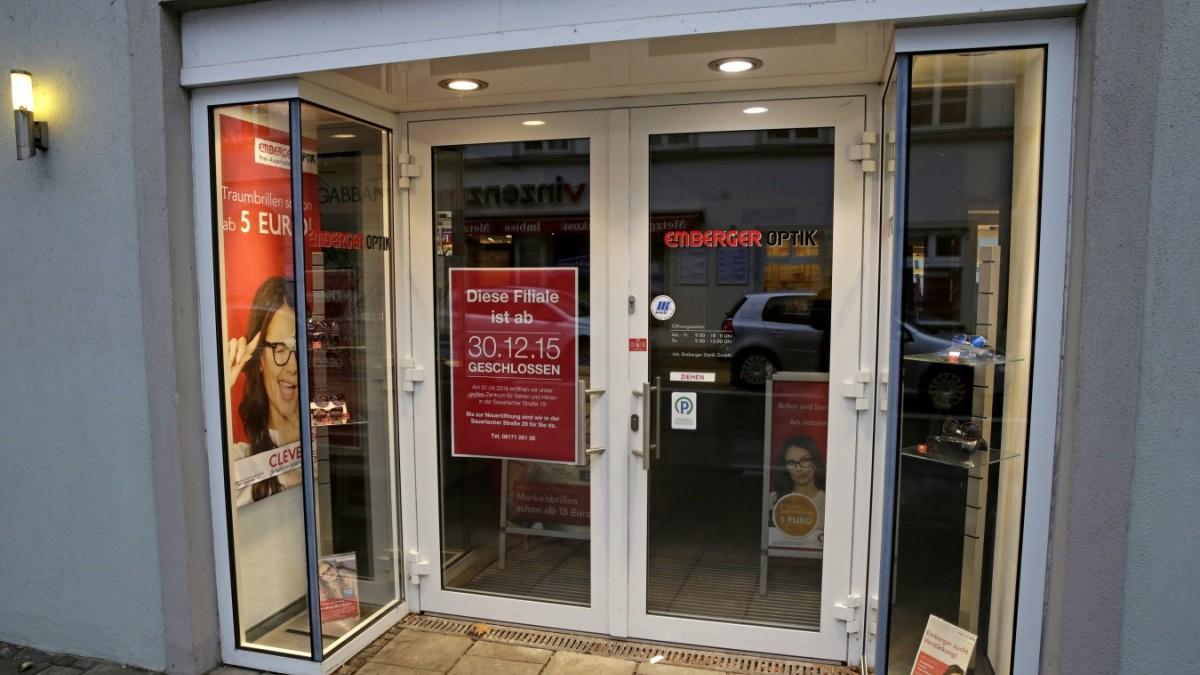 Wolfratshausen - Der letzte Optiker im Markt ist weg - Bad Tölz ...