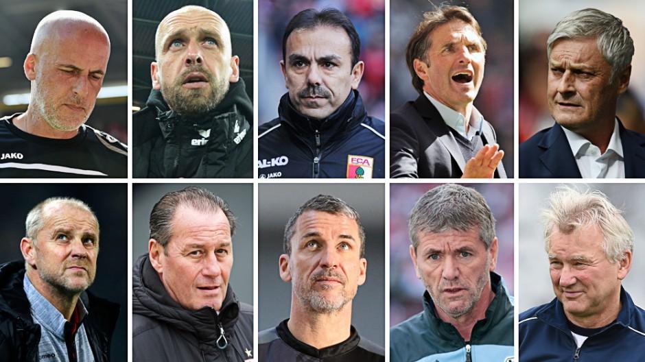 Bundesliga Fußball-Trainermarkt