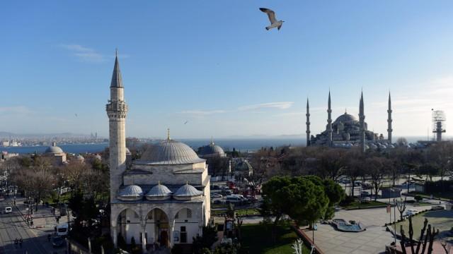 Terrorismus Selbstmordattentat in Sultanahmet