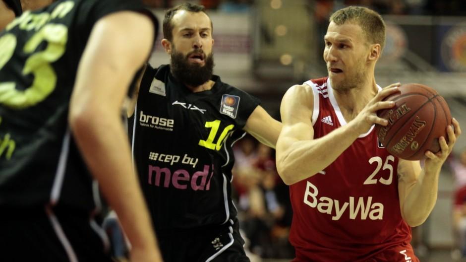 München: BBL Basketball - FC Bayern v Medi Bayreuth