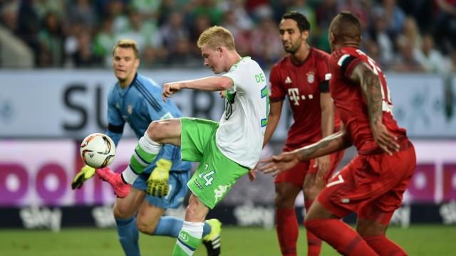 VfL Wolfsburg v FC Bayern Muenchen - DFL Supercup 2015; De Bruyne