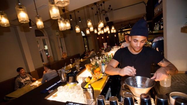 Bar 55 Eleven an der Amalienstraße 55