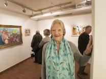Ottobrunn, Treffpunkt Kunst, Letzte Ausstellung unter der Leitung von Doris Laves-Wegat,