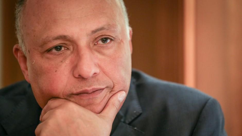 Ägyptens Außenminister Schukri