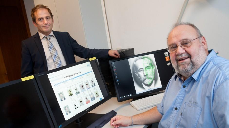 Gesichtserkennung am Computer, Landeskriminalamt in der Maillingersraße