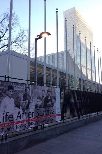 New York Ausstellung bei der UN