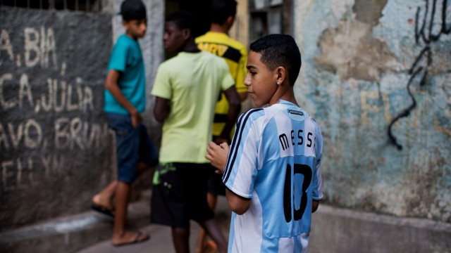 Previews In Rio De Janeiro Prior To The Final of The - FIFA Confederations Cup Brazil 2013; Messi