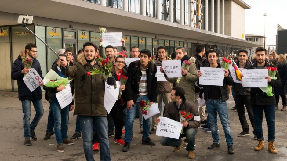 Syrer gegen Sexismus