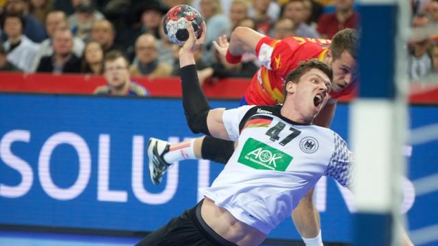 Handball Wroclaw Breslau 16 01 2016 Europameisterschaft der Herren Vorrunde Gruppe C Spanien ESP