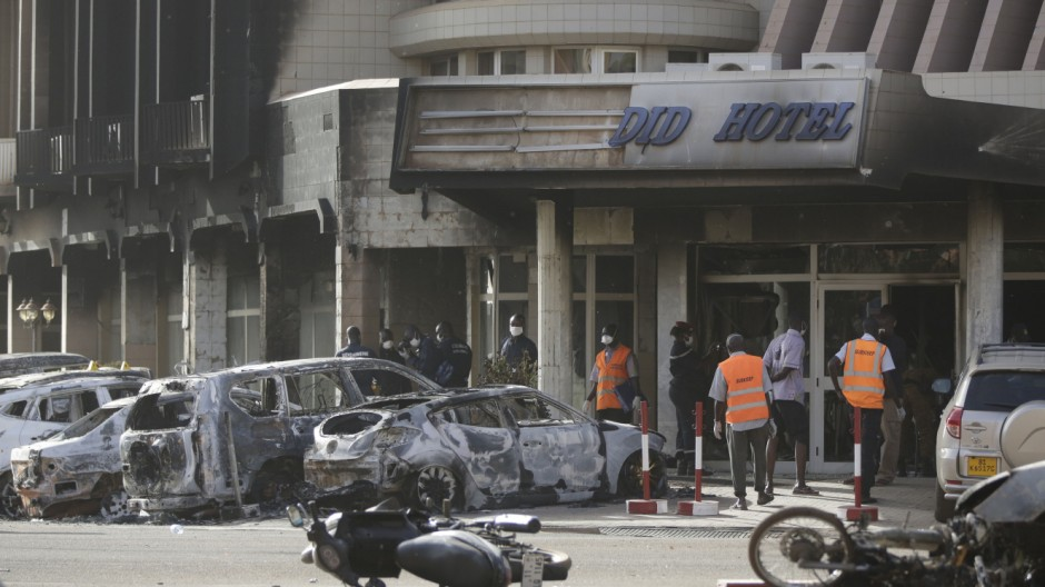 Burkina Faso Terrorismus