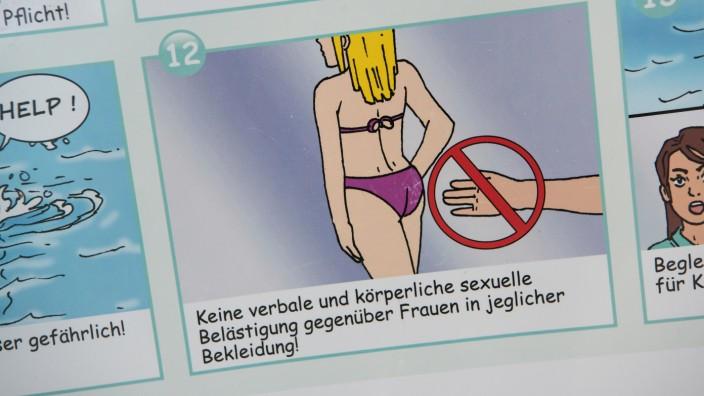 Info-Kampagne der Münchner Bäder