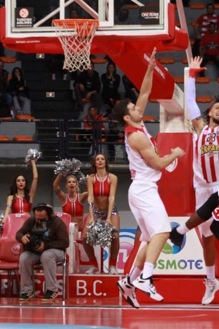 Turkish Airlines Basketball Euroleague Saison 2015 2016 Top 16 15 01 2016 Olympiakos Piräus Brose