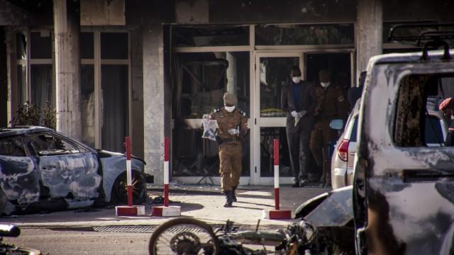 Militant attack in Ouagadougou
