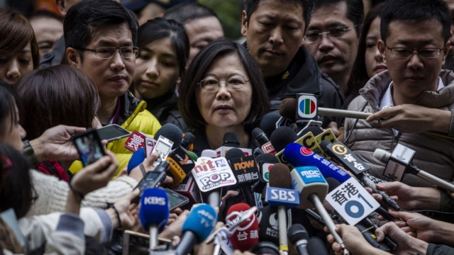 ***BESTPIX*** Taiwan Presidential Election 2016