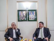 Wirtschaftsminister Sigmar Gabriel im Iran