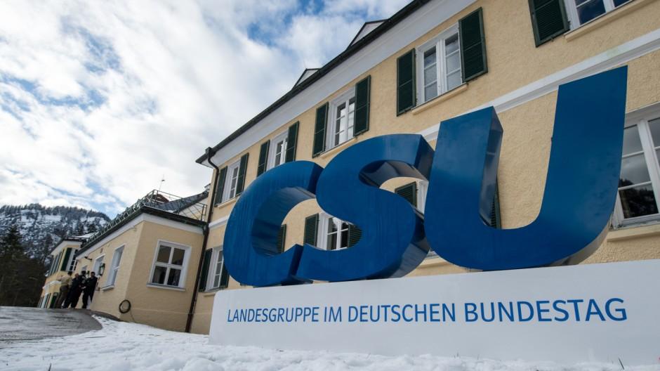 CSU-Klausurtagung