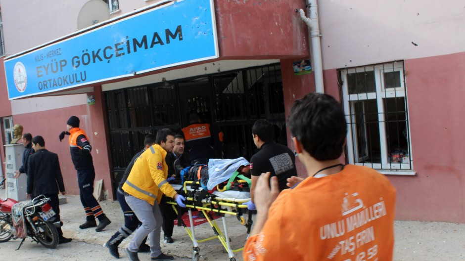 Konflikt der Türkei mit Syrien Terrormiliz