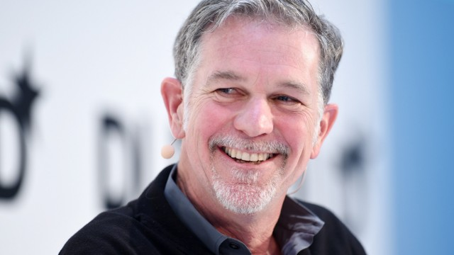Netflix Netflix-Chef Reed Hastings