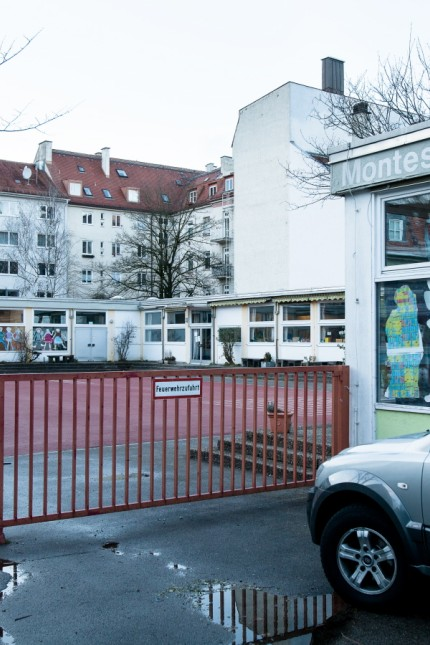 Die Montessori-Schule in der Reutberger Straße in Sendling